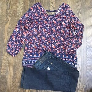 ONLY floral blouse size 36